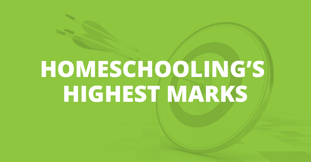 Homeschooling's Highest Marks