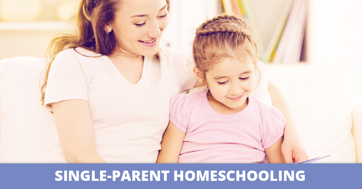 Single Parent Homeschooling