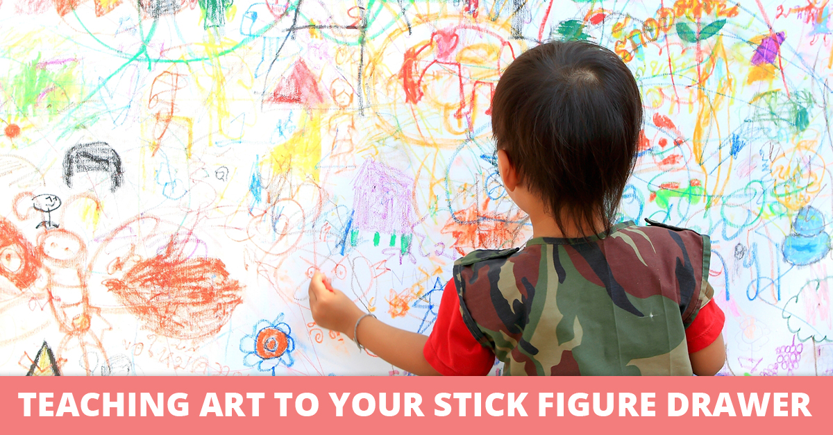 Teaching Art to Your Stick Figure Drawer