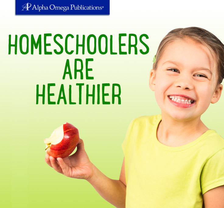 Homeschoolers are Healthier