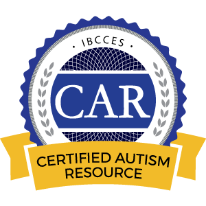 Certified Autism Resource Award