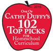 Cathy Duffy's 102 Top Picks for Homeschool Curriculum