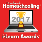Practical Homeschooling iLearn Award - Second place
