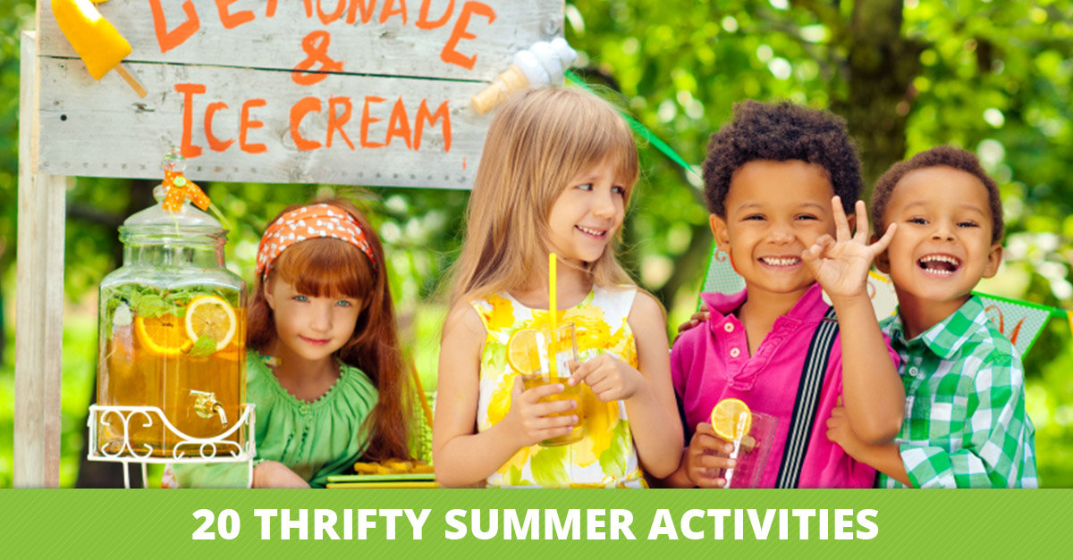 20 Thrifty Summer Activities