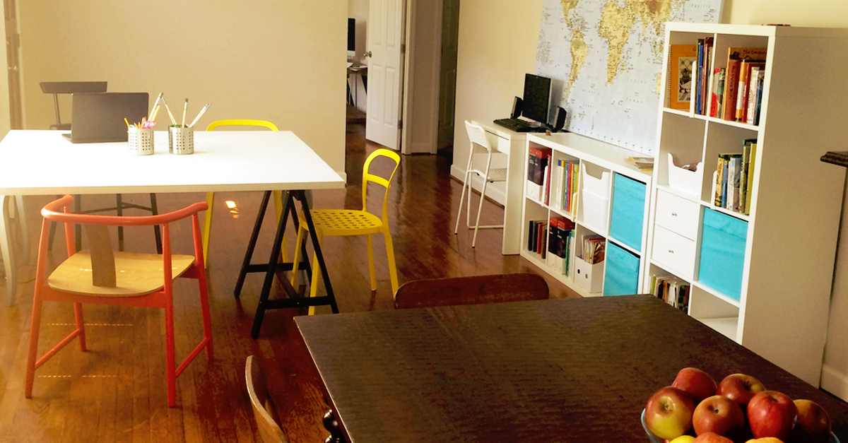 A New Homeschool Space for a New School Year