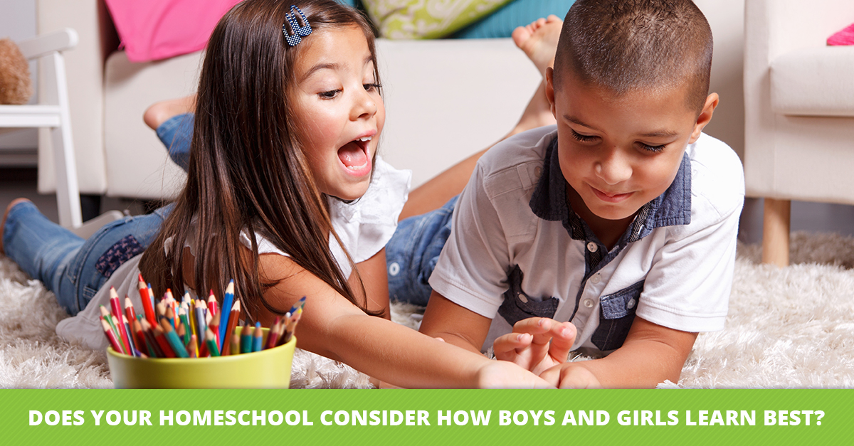 Does Your Homeschool Consider How Boys and Girls Learn Best?