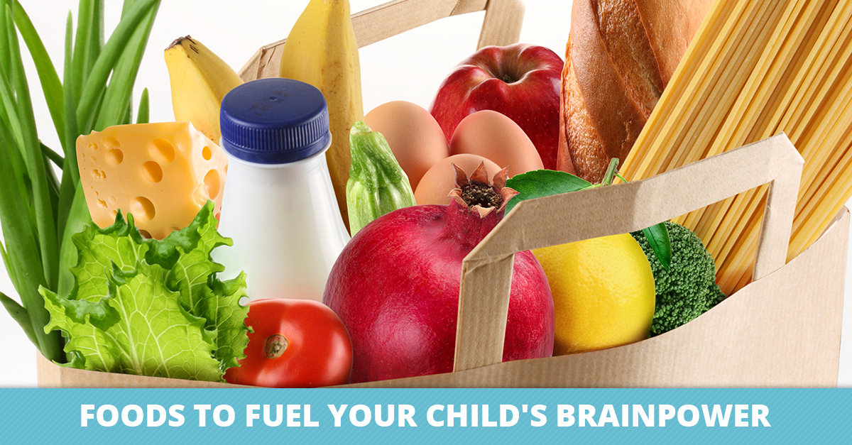 Foods to Fuel Your Child's Brainpower