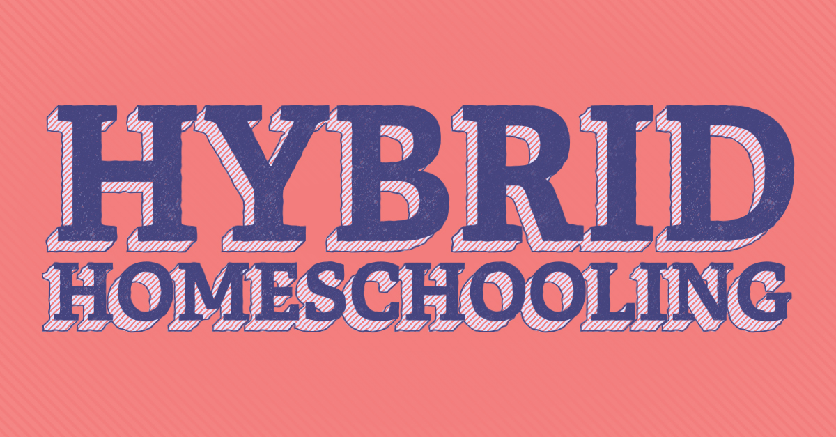 Hybrid Homeschooling Has Ups and Downs