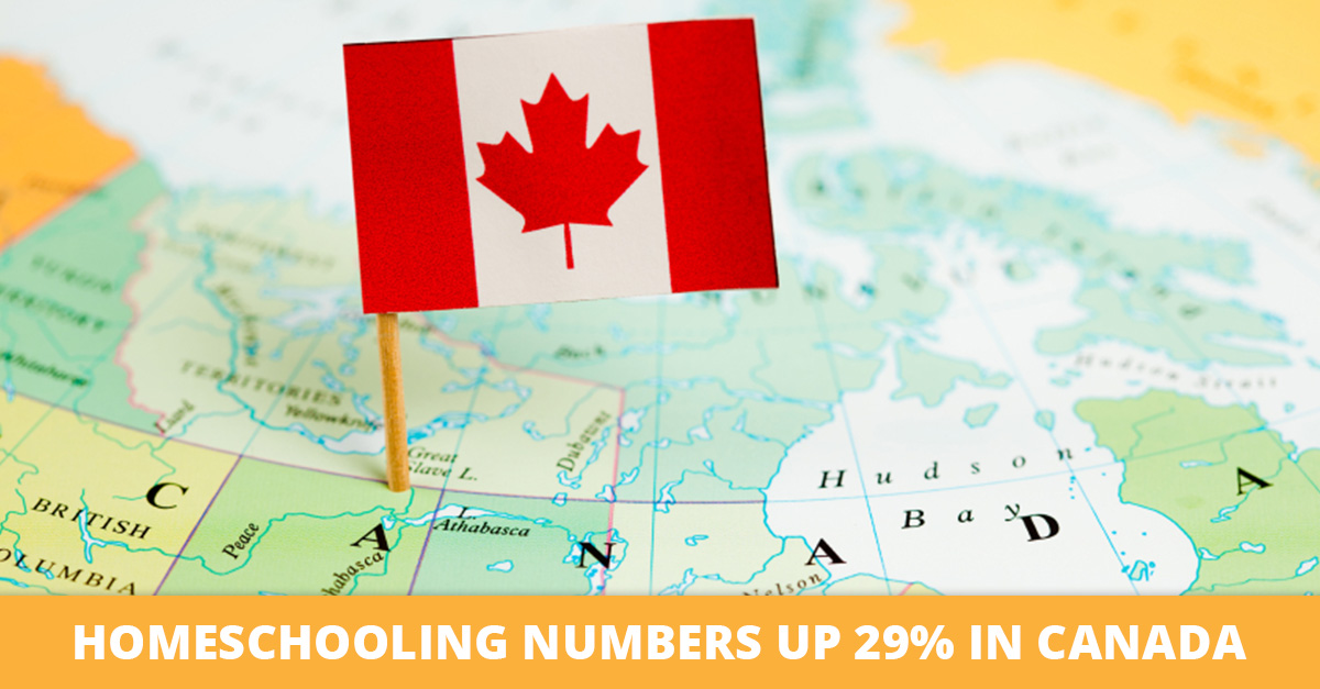 Homeschooling Numbers Up 29 Percent in Canada