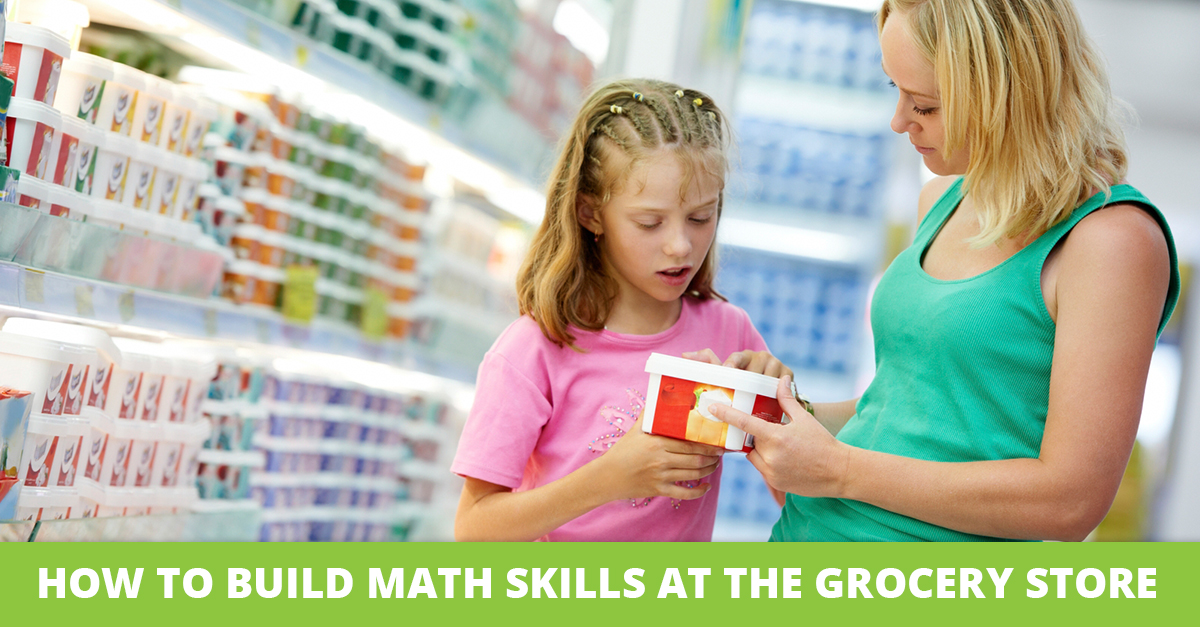 How to Build Math Skills at the Grocery Store