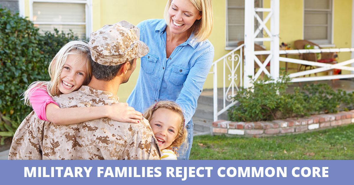 Military Families Reject Common Core