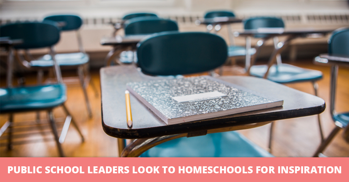Public School Leaders Look to Homeschools for Inspiration