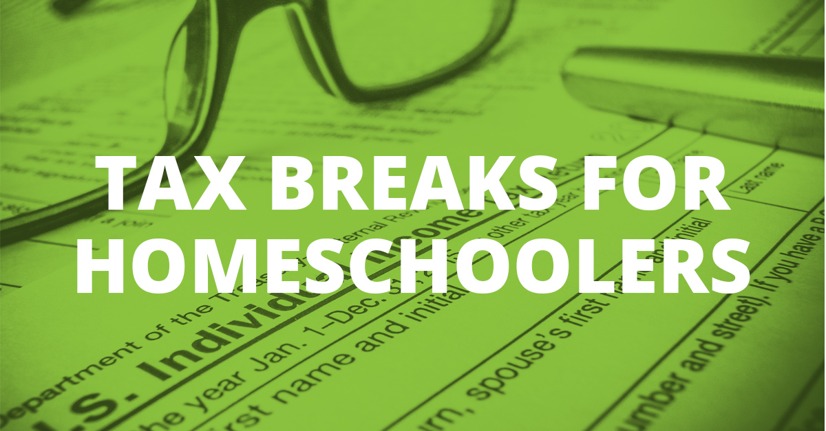 Tax Breaks for Homeschoolers