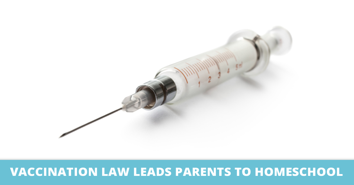 Vaccination Law Leads Parents to Homeschool