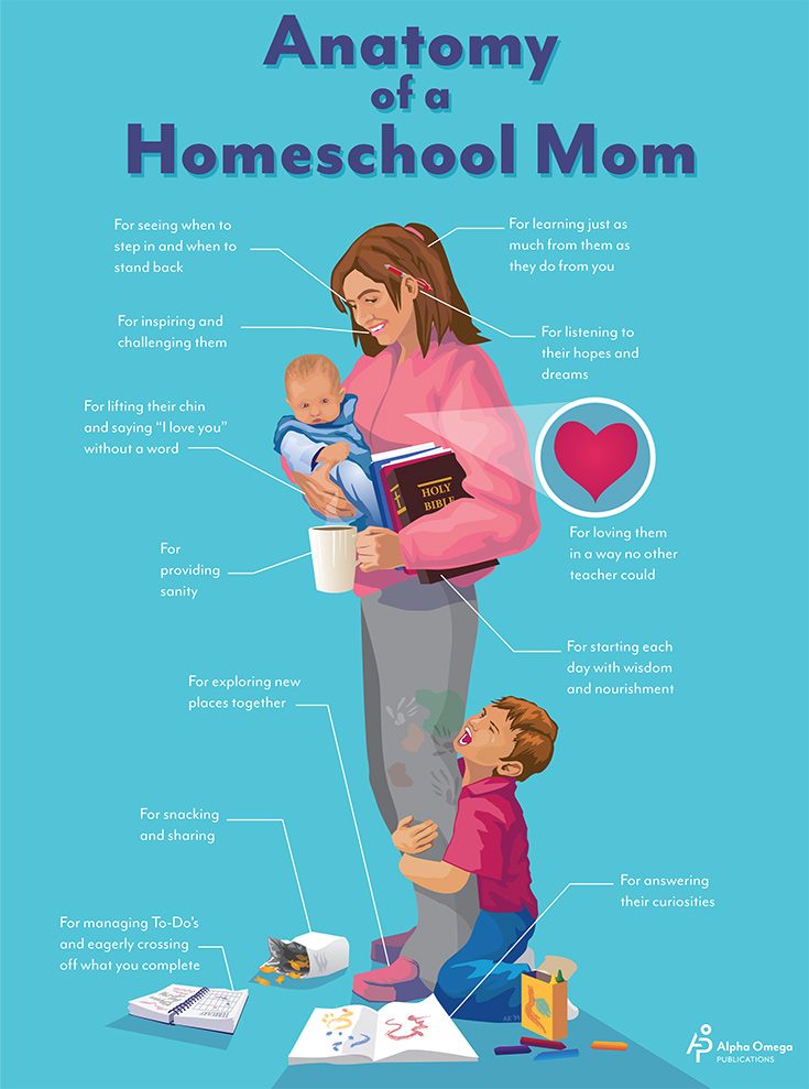 Anatomy of a Homeschool Mom