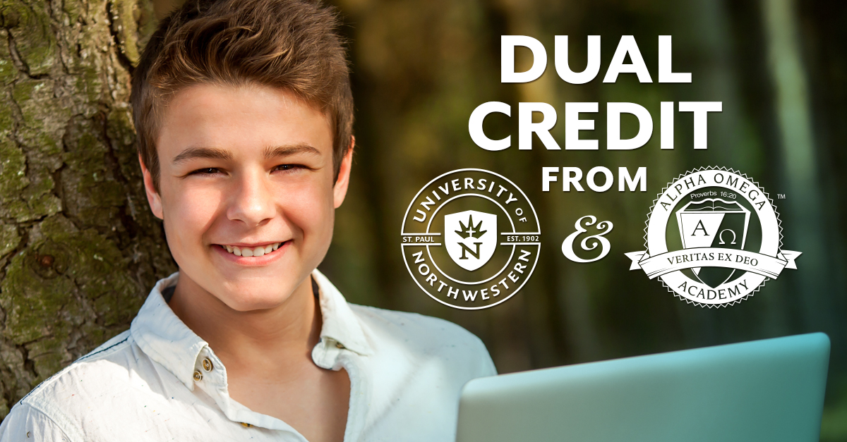 Earn Dual Credit Through Alpha Omega Academy