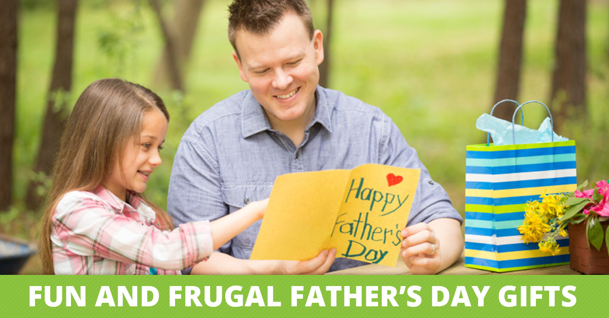 Fun and Frugal Father's Day Crafts