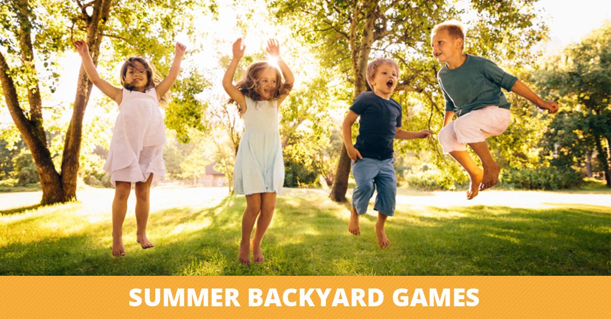 Summer Backyard Games