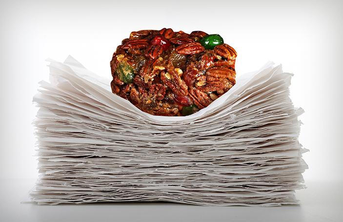 Paperweight Fruitcake
