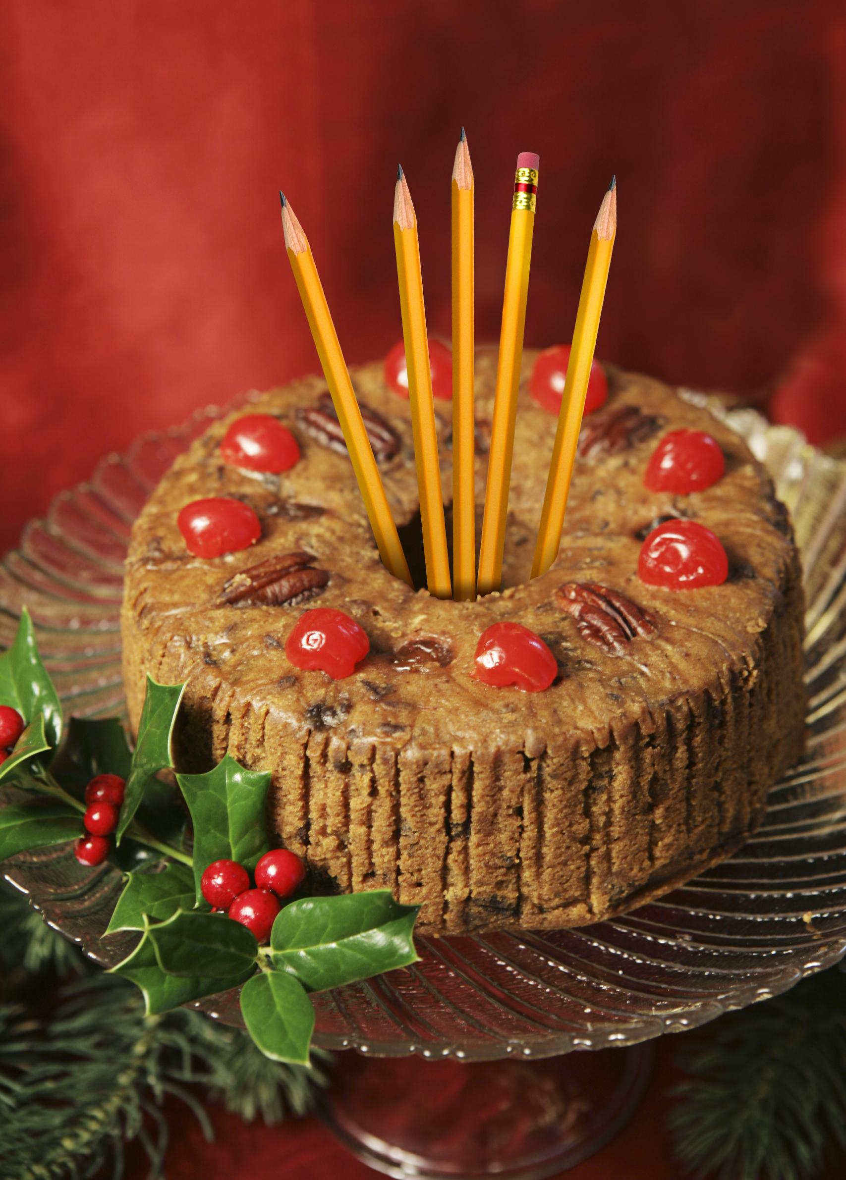 Pencil Holder Fruitcake