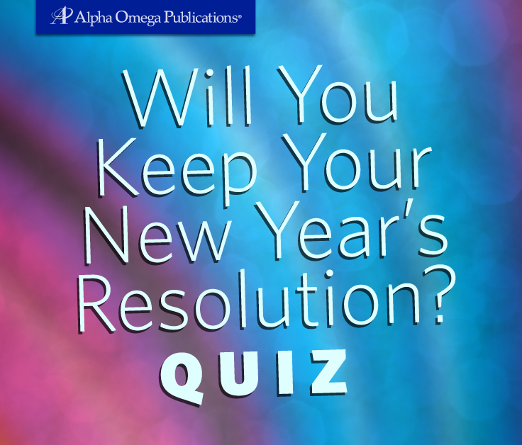 Will You Keep Your New Year's Resolution Quiz