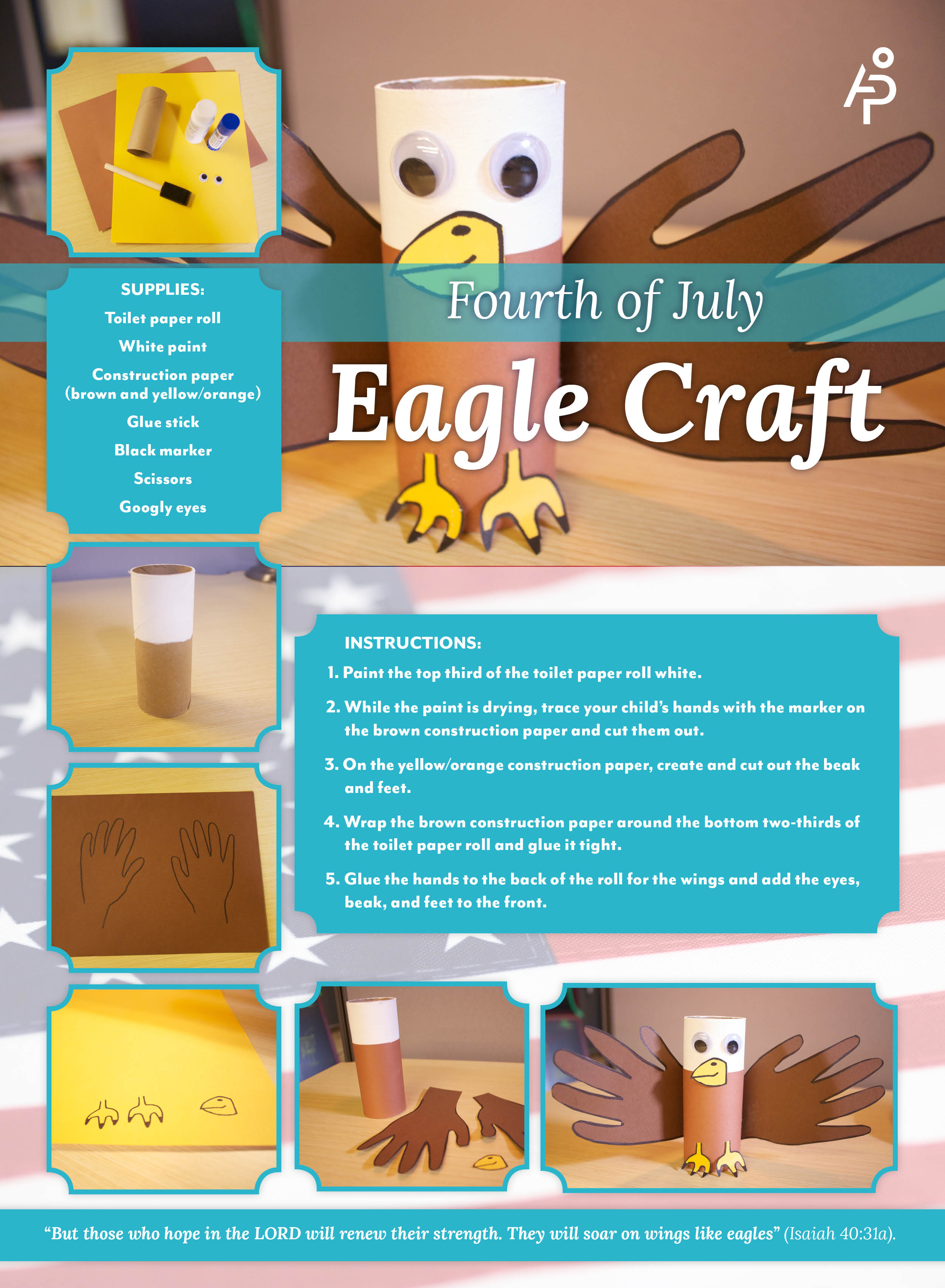 Fourth of July Eagle Craft