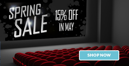 Spring Sale | 15% off in May