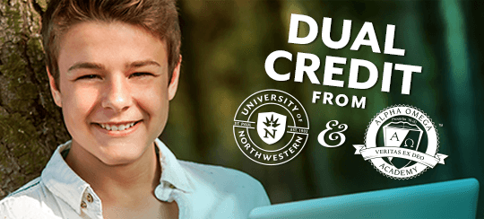 Dual Credit from Alpha Omega Academy and the University of Northwestern - St. Paul