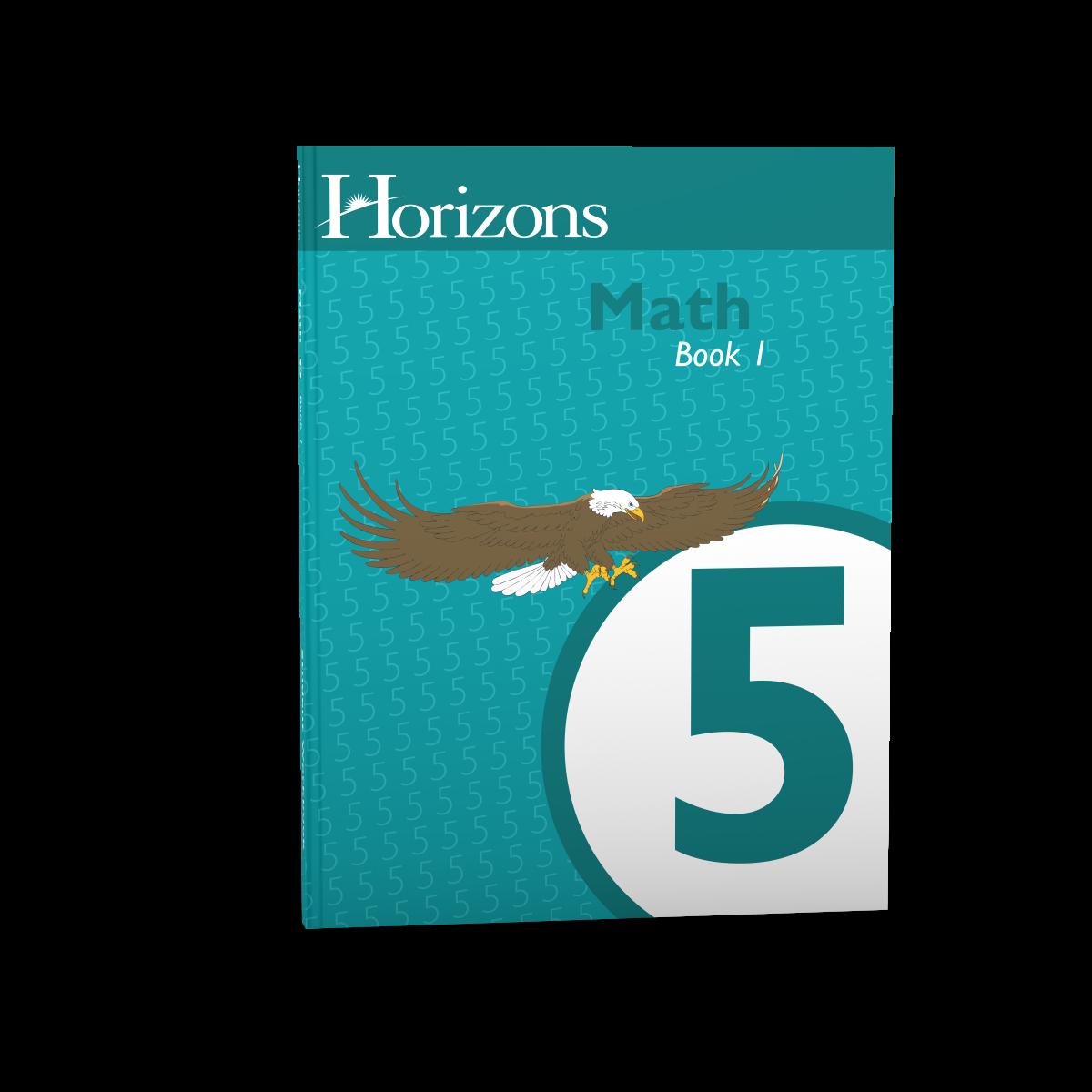 Horizons 5th Grade Math Student Book 1 - AOP Homeschooling