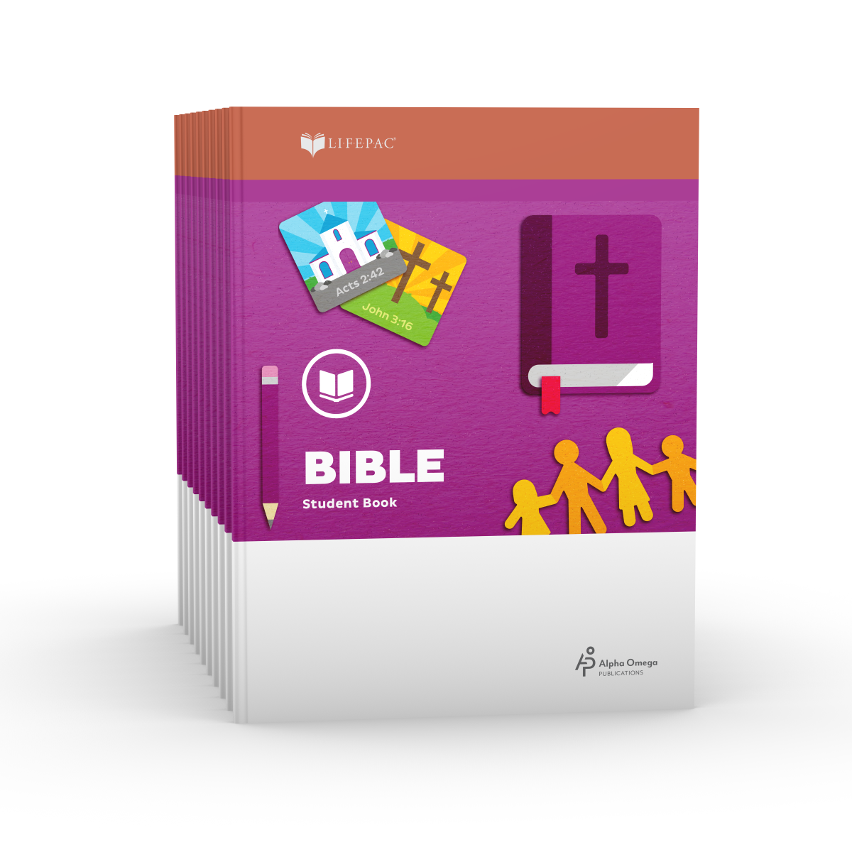 LIFEPAC® 2nd Grade Bible 10-Unit Set