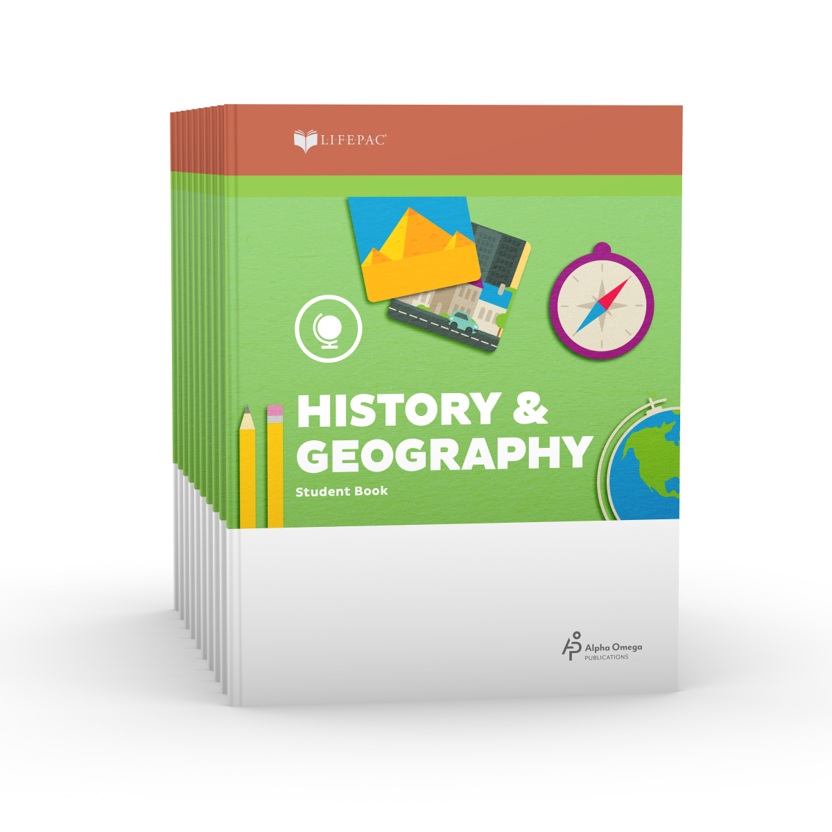 LIFEPAC® 2nd Grade History & Geography 10-Unit Set
