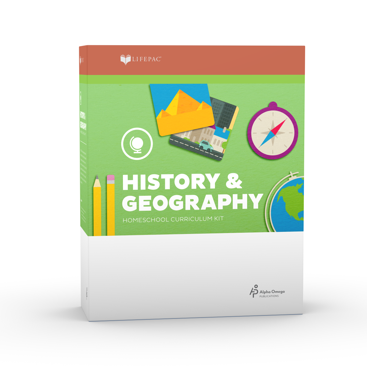 LIFEPAC® 2nd Grade History & Geography Set