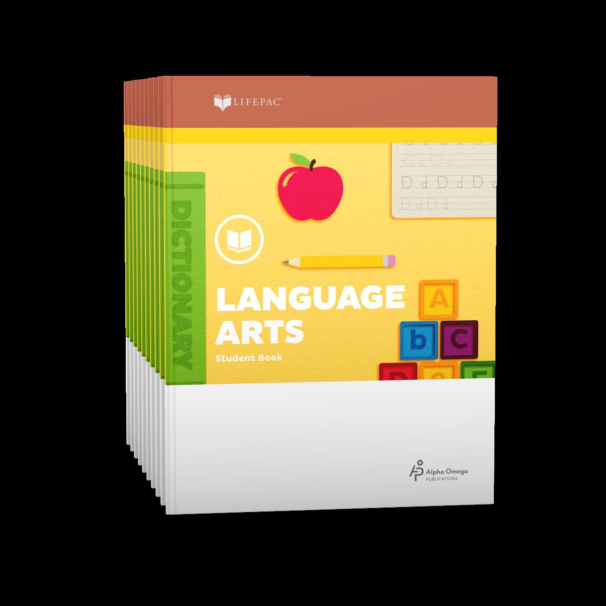 Lifepac 2nd Grade Language Arts 10 Unit Set Aop Homeschooling