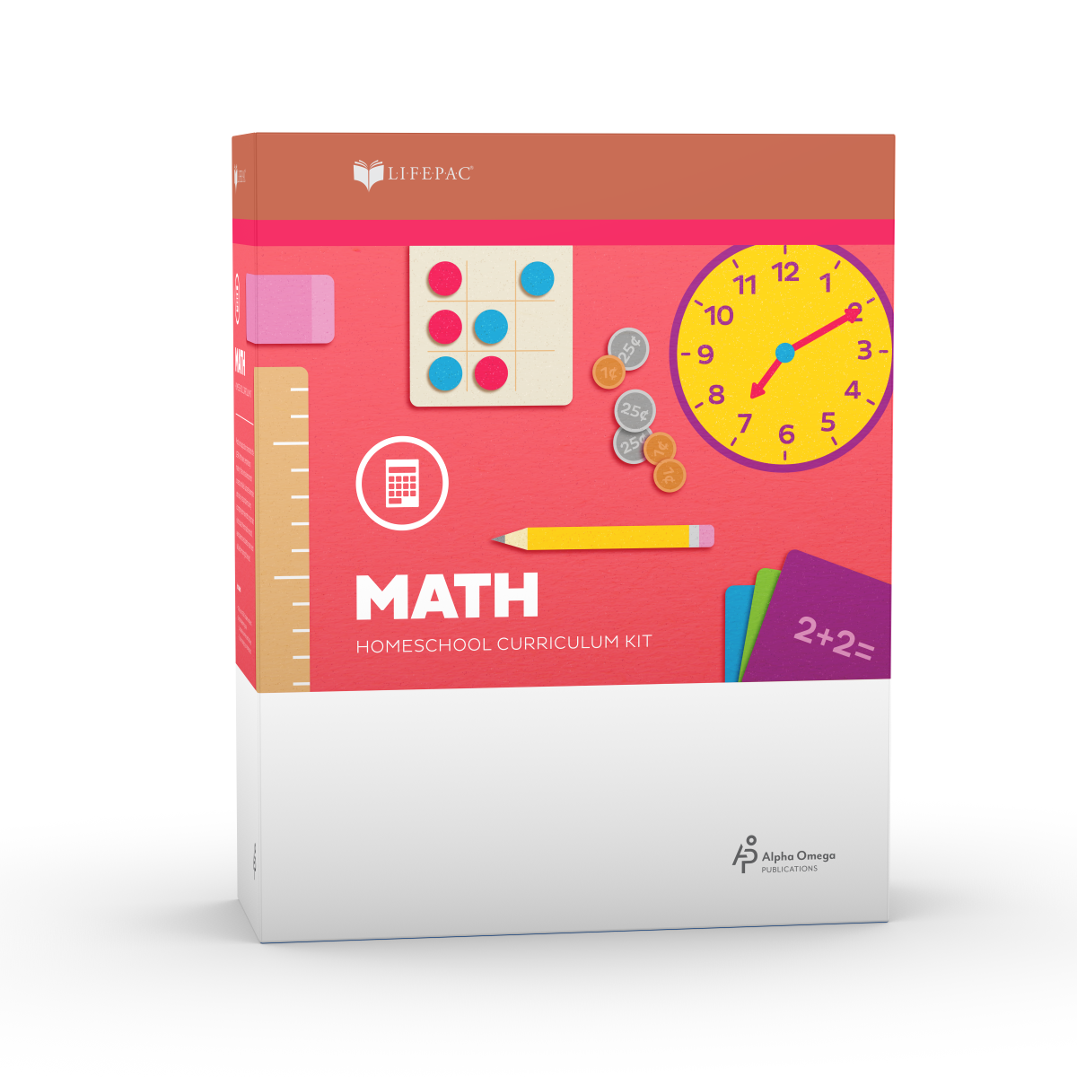 LIFEPAC® 1st Grade Math Set