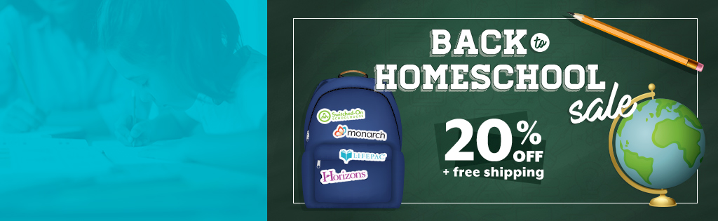 20% OFF Back-to-Homeschool Sale