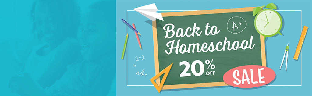 AOP Back-To-Homeschool Sale 20% Off