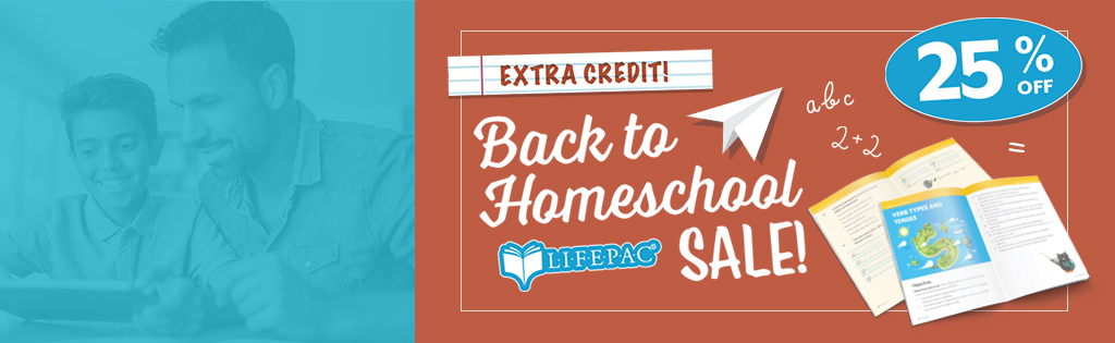 Save 25% on LIFEPAC on August 6 with code LIFEPAC25.