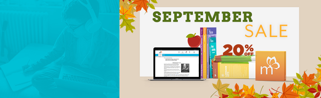 Save 20% on AOP Curriculum in September