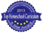 Top Homeschool Curriculum Award